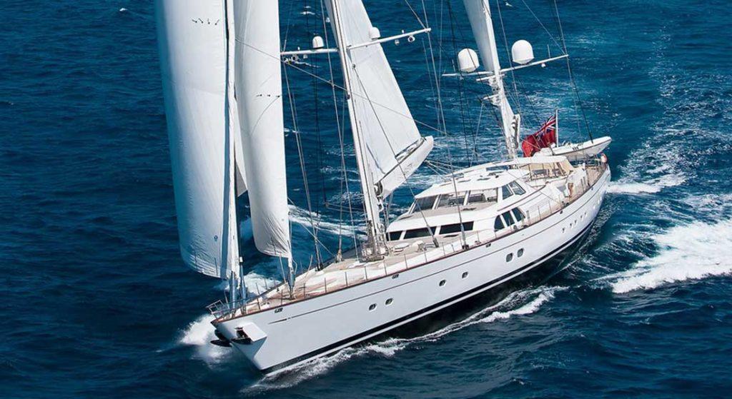 Royal Huisman built the sailing superyacht Ethereal
