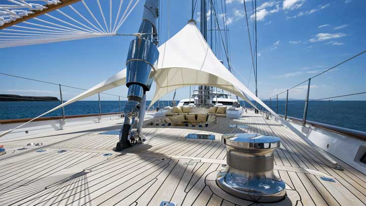 Ethereal is a superyacht ketch