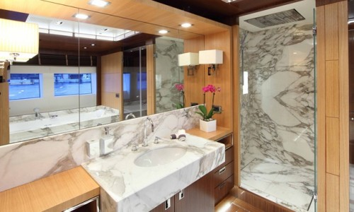 Prima master office bathroom