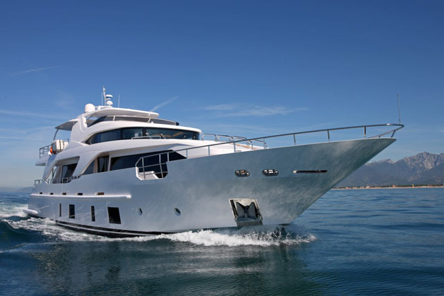 ... a handful of Benetti Delfino 93 megayachts available in the Caribbean, ...