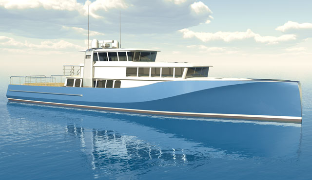 Support Yacht Designed for Triton Submarines Personal Sub