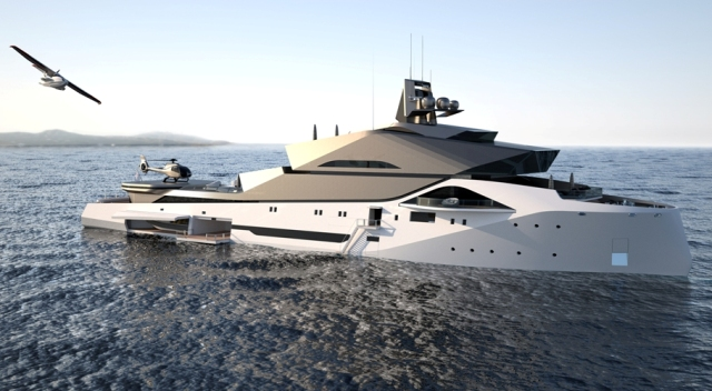 Dune 90 Explorer Concept Yacht Megayacht News