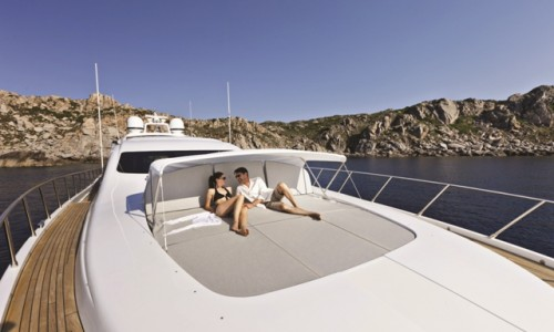 Mangusta 92 forward sunpad