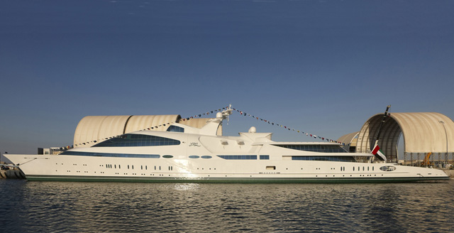 Yas is among the 10 largest megayacht deliveries of the decade