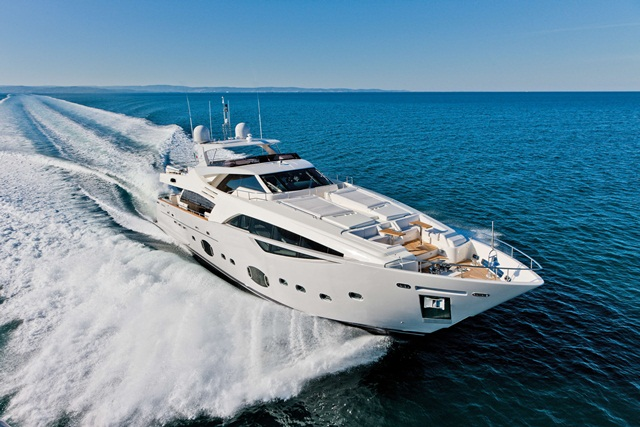 Allied Marine Ferretti Group Superyacht Division Ferretti Custom Line 100