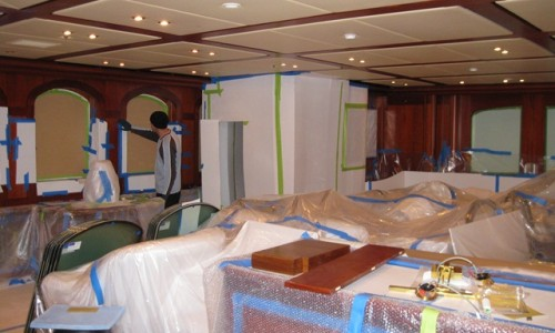Athena-refit-interior-work