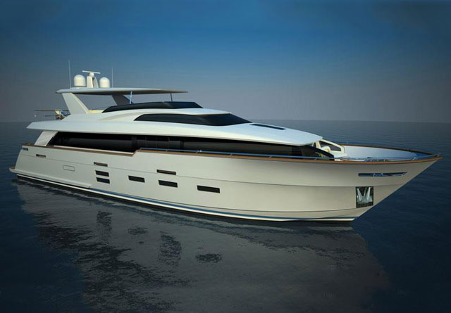 Complementing its existing 80 Motor Yacht and 100 Motor Yacht models, ...
