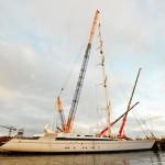 m5 mast destepping Pendennis (5)