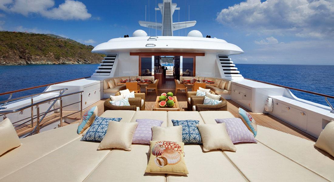 Feadship Lady Britt charter yacht directory megayacht