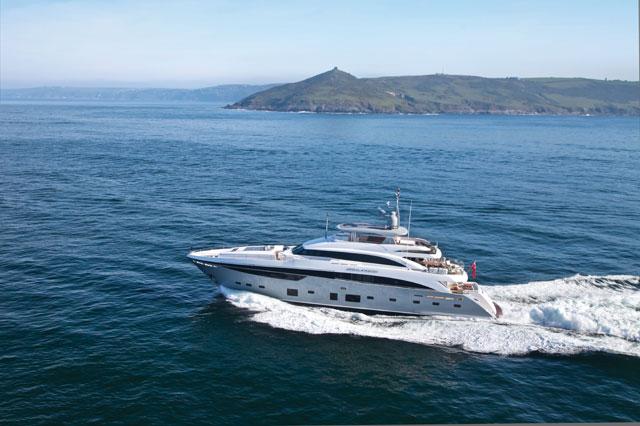 Princess Yachts Delivers Largest Megayacht To Date