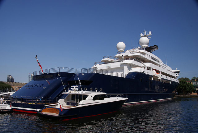 Megayacht Octopus To Aid In Search For Historic Ship Bell Megayacht News