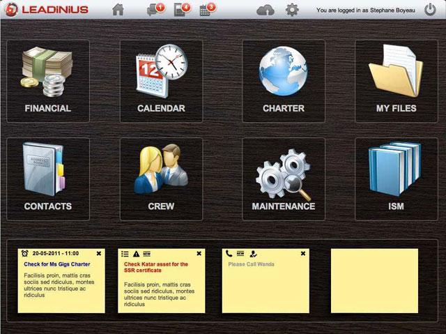 Leadinius_iPad_Home