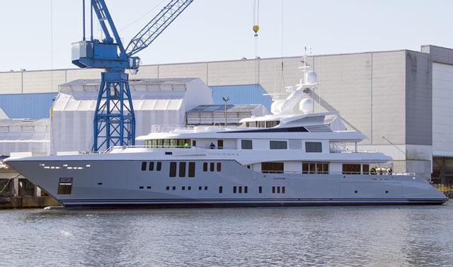 Odessa Ii Revealed At Nobiskrug Megayacht News