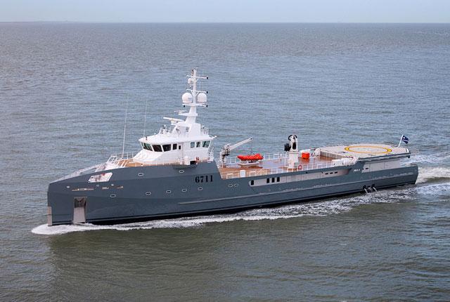 Damen-Sea-Axe-6711-sea-trial