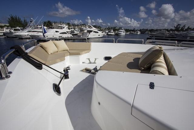 Hargrave Custom Yachts Bops foredeck Garrett Swartz
