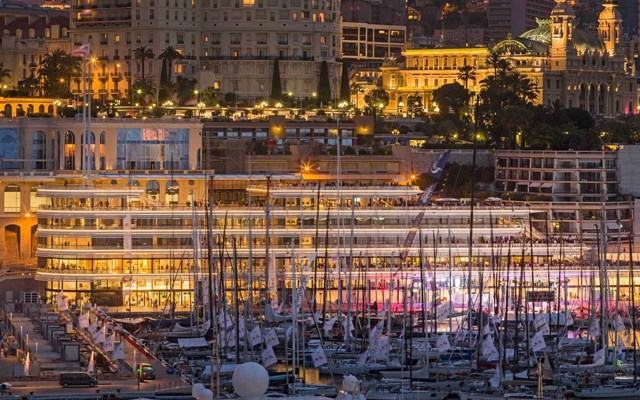 Monaco Yacht Club; the Monaco Yacht Show is on for 2021
