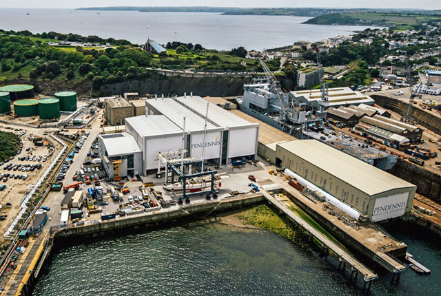 Pendennis is an international superyacht shipyard impacted by the coronavirus pandemic