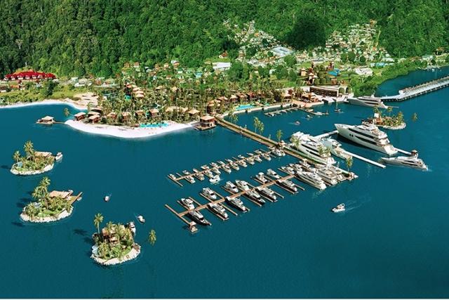 Golfito Marina Resort & Village rendering
