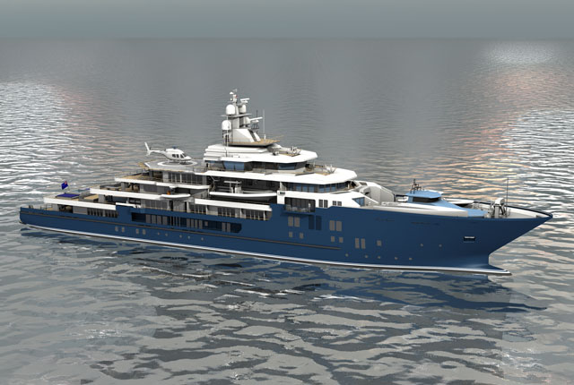 Kleven Building 2nd Megayacht for Graeme and Robyn Hart - Megayacht News