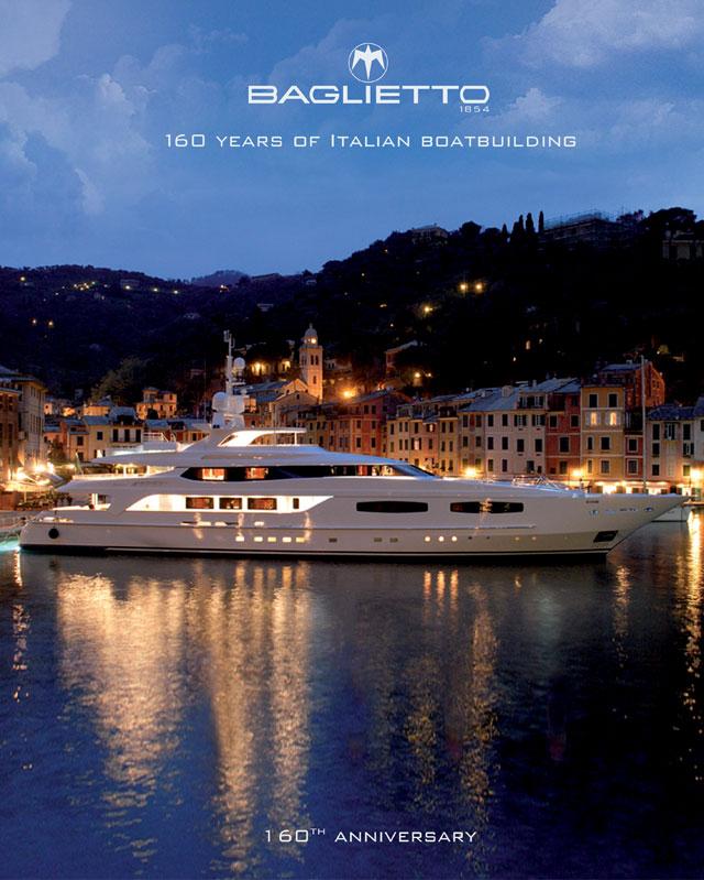 Baglietto 160 Years of Italian Boatbuildingcover