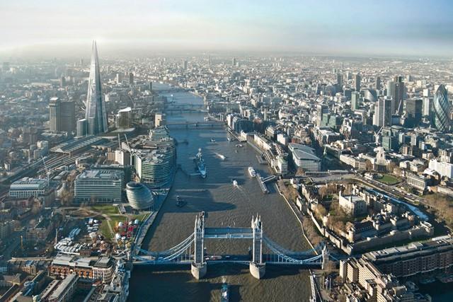 London Yacht Jet & Prestige Car Show Thames River