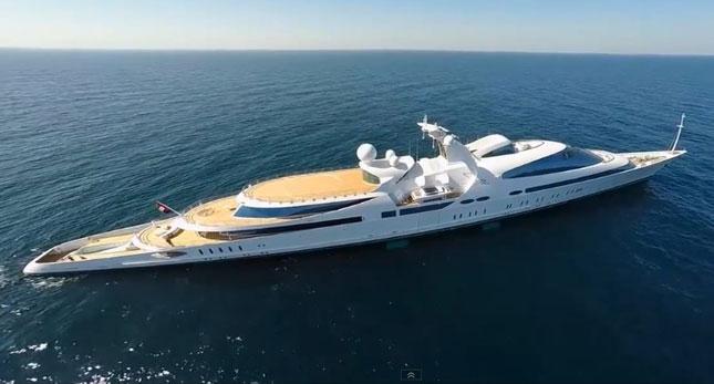 Yas On Sea Trials Video Megayacht News