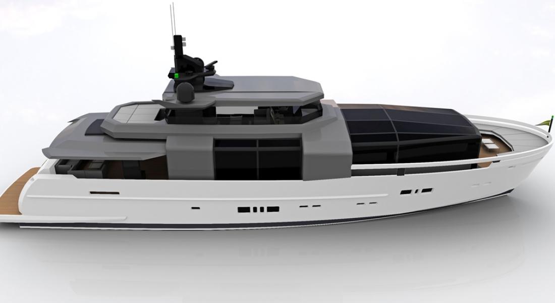 Arcadia 100, 145 Coming From Arcadia Yachts