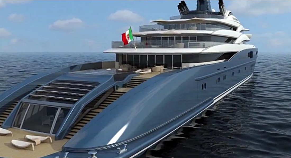 Vanitas, Megayacht Concept From Fincantieri: VIDEO