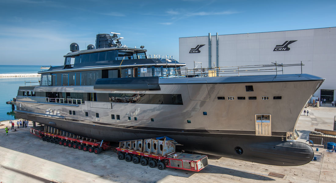CRN 134, by Nuvolari-Lenard, Ready for Launch