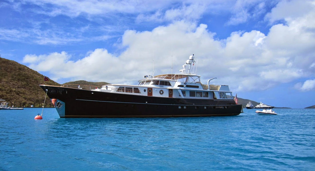 #ThrowbackThursday: Chanticleer, by Burger Boat Company