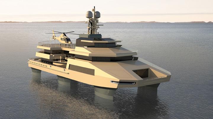 Danish-Yachts-Hummer-of-the-Seas-SWATH-mode