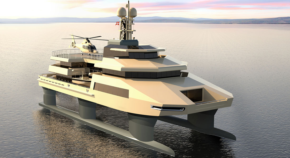 """Hummer of the Seas"" From Danish Yachts"