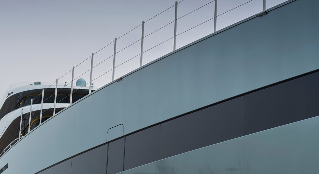 Sunday Superyacht Video: Yacht Painting, the Feadship Way