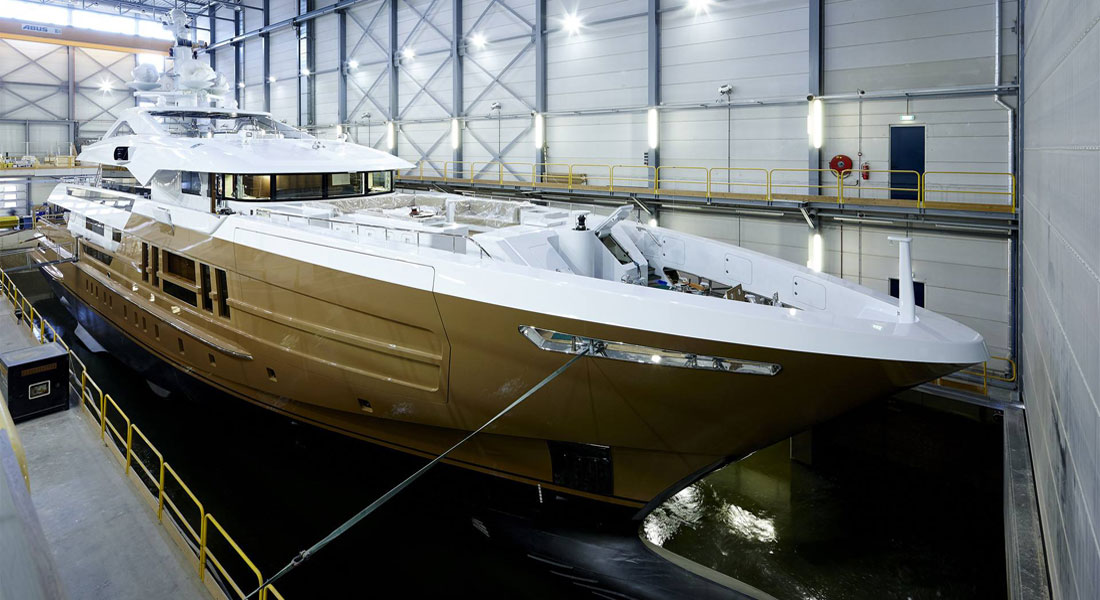 Azamanta Awaits Delivery at Heesen Yachts