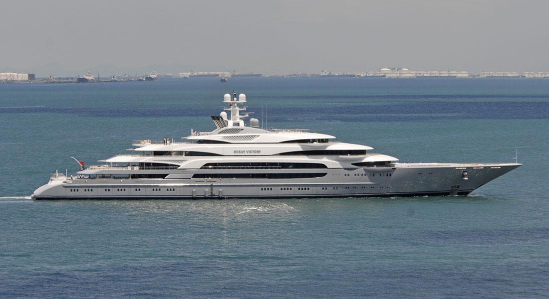 Ocean Victory, Fincantieri's Biggest Delivery, Seen in Singapore