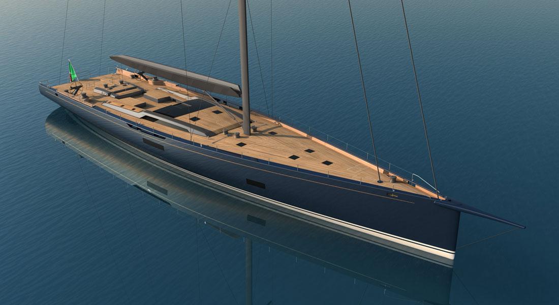 Baltic 130 Custom by Reichel Pugh & Nauta Yachts