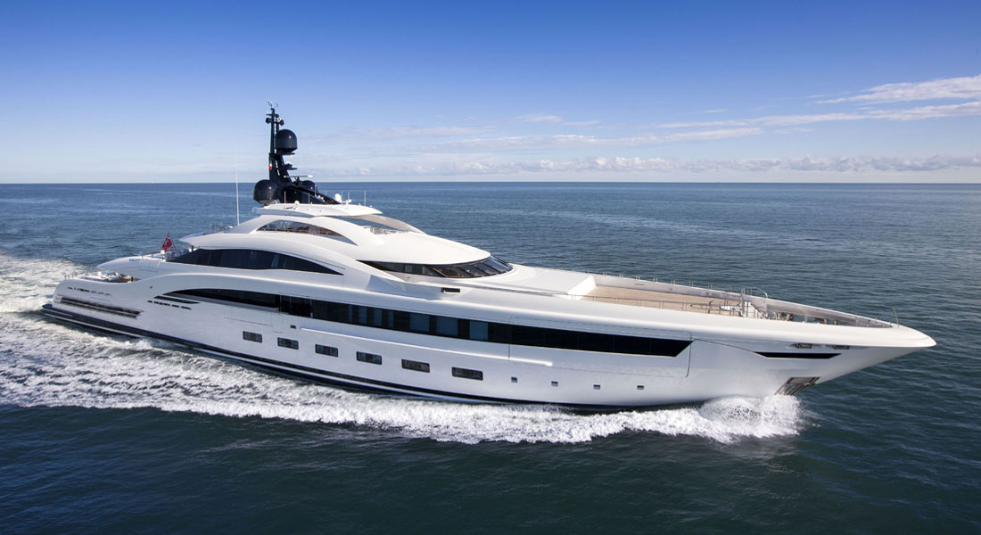 CRN 138, an Omega Architects Superyacht, Under Contract