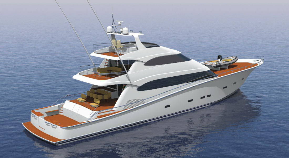 Hull 1015: Super-Size Sportfisherman Set for 2017 Launch