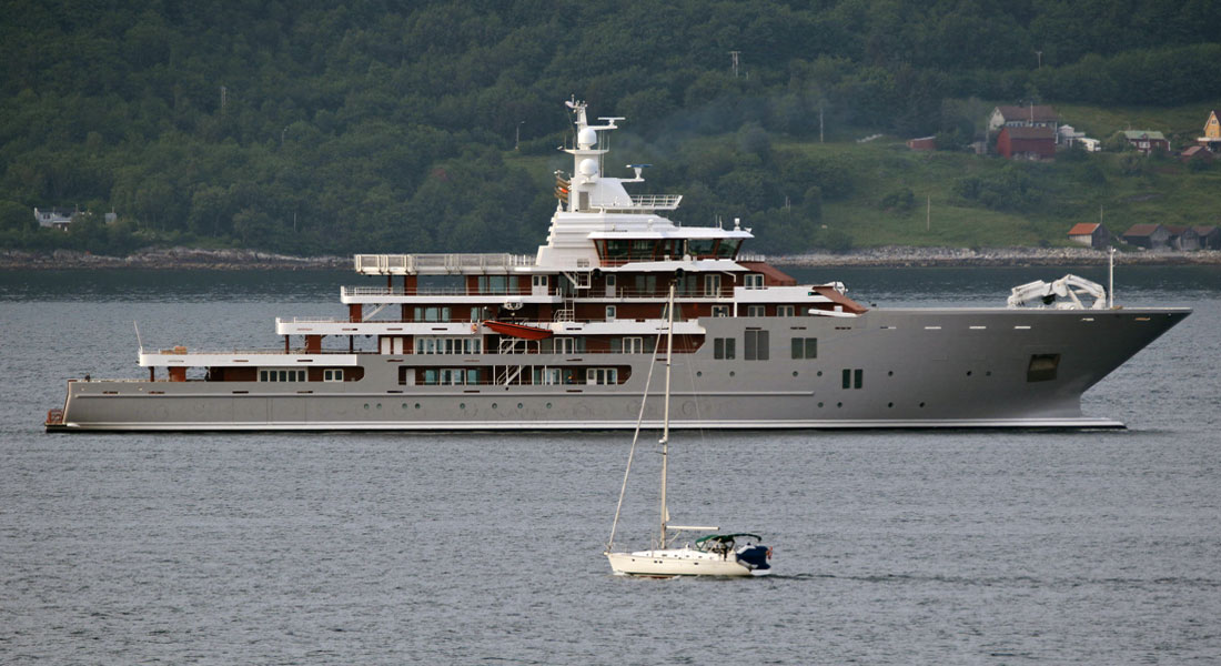 Ulysses, Explorer Yacht From Kleven: Slideshow