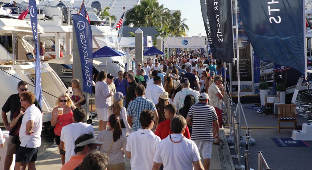 Bahia Mar Fort Lauderdale International Boat Show FLIBS megayacht