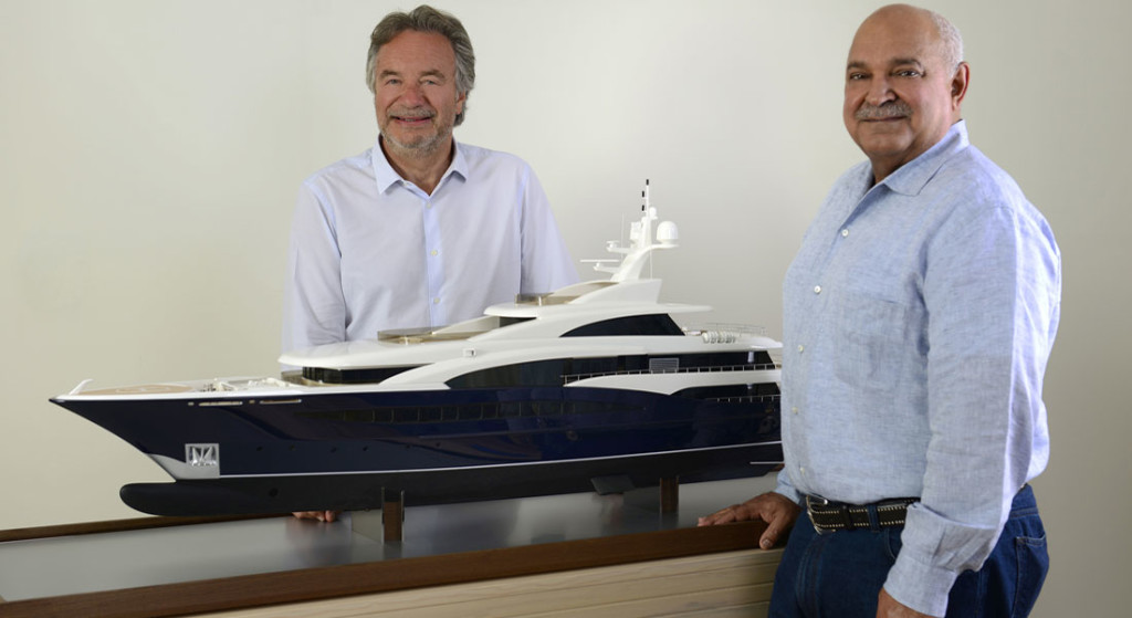 Turquoise Yachts builds megayachts under the guidance of Mehmet Karabeyoglu and Mohammed al-Barwani