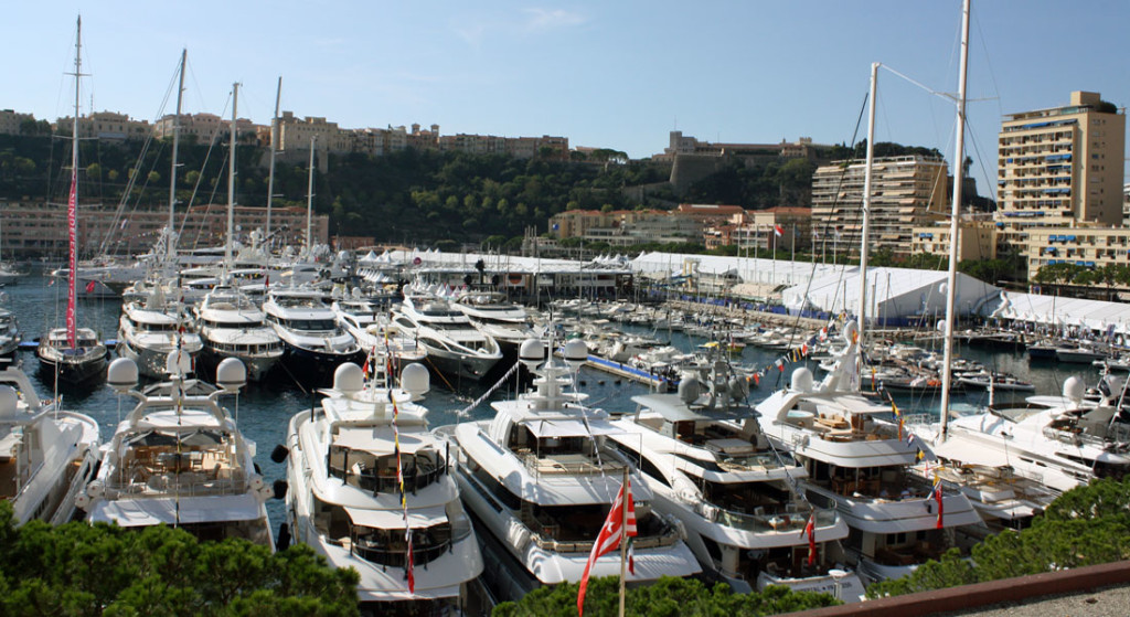 the Monaco Yacht Show is on for 2021