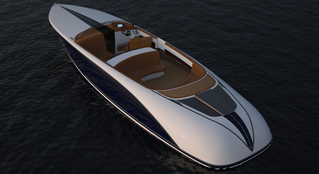 Prince 40 Superyacht Tender From Bill Prince Yacht Design