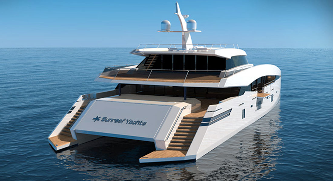 150 sunreef power joins sunreef yachts u2019 cat offerings