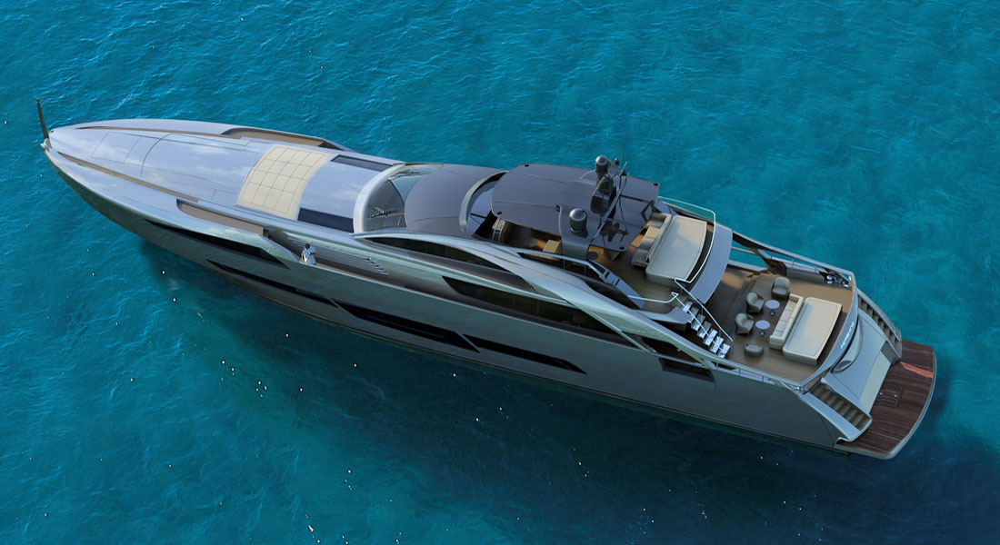 Pershing 140: Biggest, Boldest Pershing Yet - Megayacht News