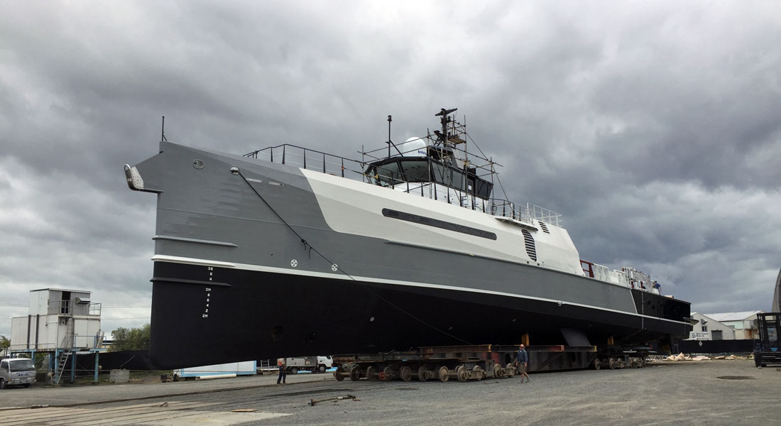 Advantage Refit Wrapping Up