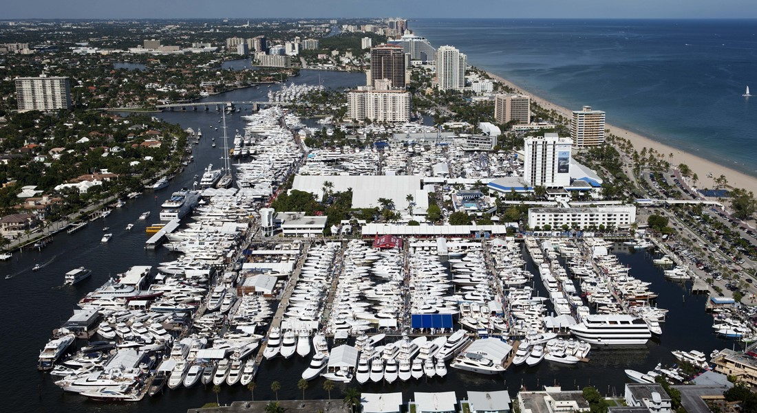 Bahia Mar Fort Lauderdale International Boat Show attracts megayachts and superyachts FLIBS's fresh approach
