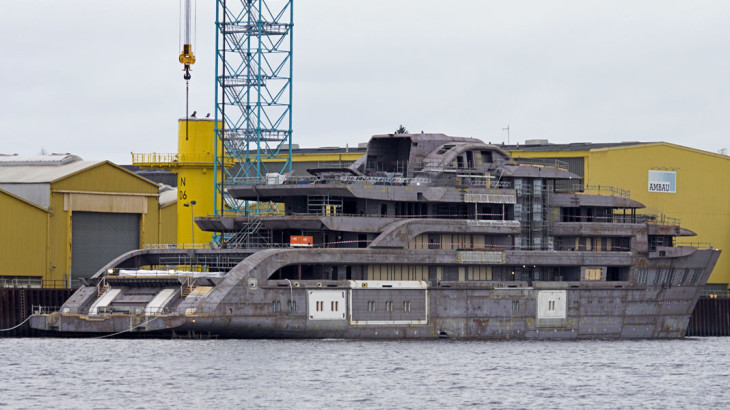 L 252 Rssen S Latest Mystery Superyacht Megayacht News