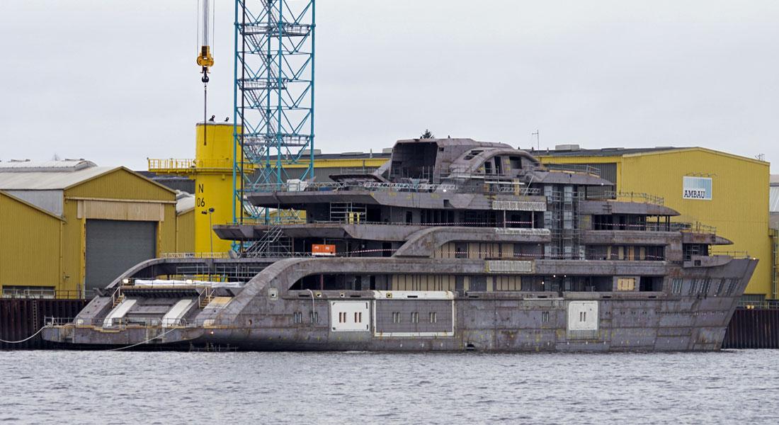 Lürssen's Latest Mystery Superyacht