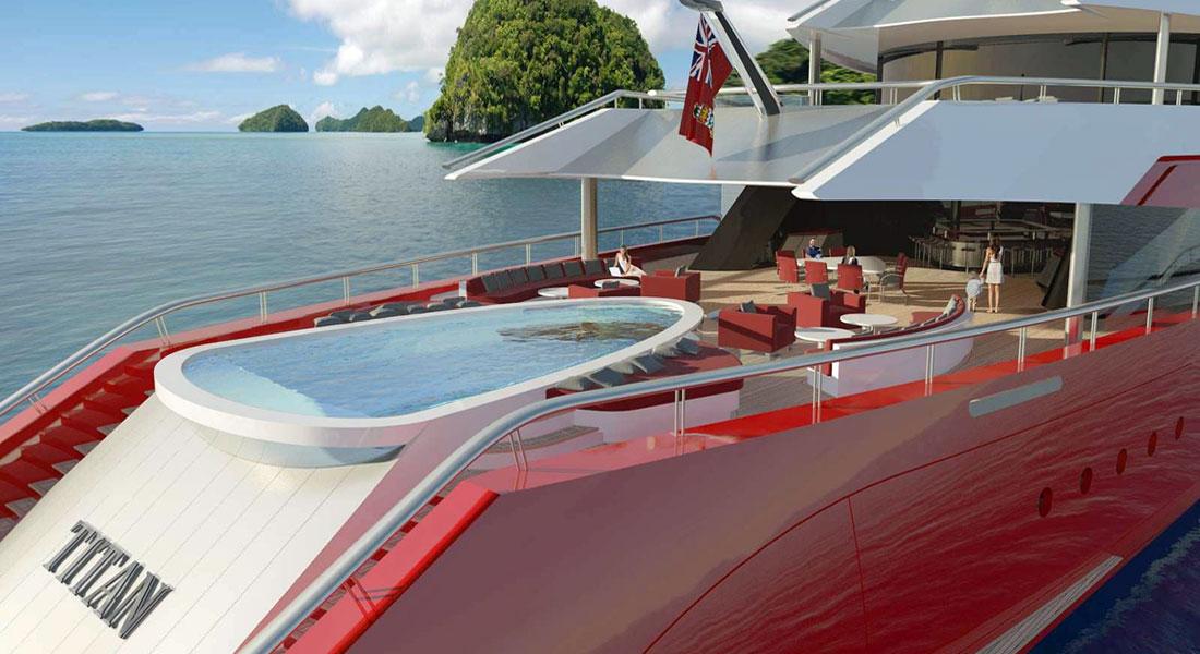 Titan superyacht concept Oceanco